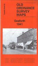 OLD ORDNANCE SURVEY MAP GOSFORTH 1941