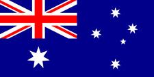 4x AUTO ADESIVO BANDIERA AUSTRALIA 8cm Bandiera Vinile Sticker FLAG AUSTRALIA decal