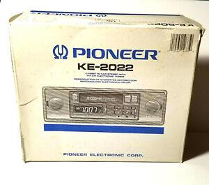 NEW - Pioneer KE-2022 Classic Car Old School AM/FM Cass 2 Shaft Radio Car Stereo