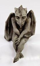Sitting Gargoyle Concrete Statue Gothic Cement Statuary Sculpture Decorative art
