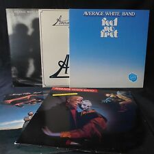 AVERAGE WHITE BAND Collection RCA ATLANTIC 5LP JOB LOT FREE SOUL AWB SHINE CUPID
