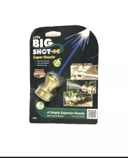 Little Big Shot Adjustable Garden Hose Nozzle Brass Spray Made in USA