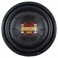 BOSS Audio D12F Phantom 12-inch 1000-watt Single Voice Coil Subwoofer