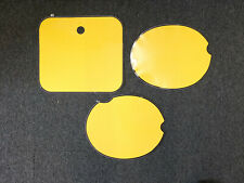 Number Backgrounds Honda CR 480 1982 RC YELLOW CR480
