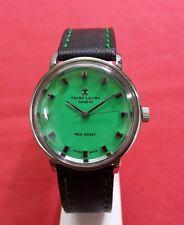 Vintage favre leuba mens winding swiss made working wrist watch 100%authentic..