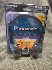 PANASONIC RP-HT16 HEADPHONES NEW