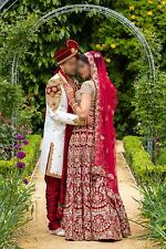 Indian/Asian bridal lengha From Mongas