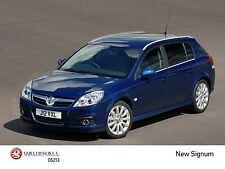 Vauxhall-Opel Signum Press Photo CD 2002-2006