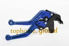 For SUZUKI GSXR600/GSXR750 2006-2010 Short Clutch Brake Levers Blue CNC