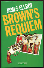 Fiction: BROWN'S REQUIEM by James Ellroy. 1984. Rare, signed ,1st novel.