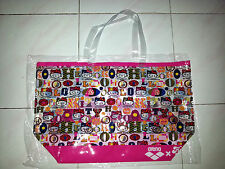 SANRIO HELLO KITTY ARENA FUNCTION TOTE BAG SWIMSUIT WATERWEAR BIG BEACH BAG PINK