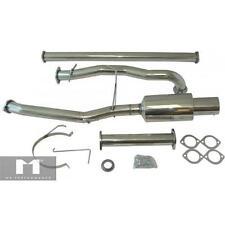 Manzo Stainless Steel TurboBack Exhaust Fits Lancer EVO8 EVO 8 9 03-06 CBS-MI01