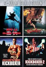 4 FILMS MARTIAL ARTS BLACK MASK  BLOODSPORT 4  KICKBOXER 1  & 2 JET LI
