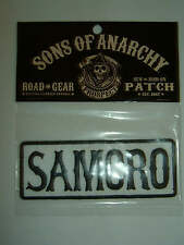 Sons of Anarchy SOA Tv Show Samcro Logo Shirt Sew or Iron on Patch