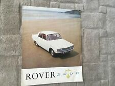 ROVER 2000 MAGAZINE BROCHURE. 1964