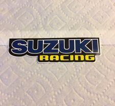vintage Motorcycle Suzuki Racing sticker samurai car Moto Blue NOS Fox answer