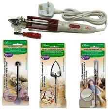 Clover Mini Iron II - Option Of Accessories -Patchwork, Craft projects, Applique