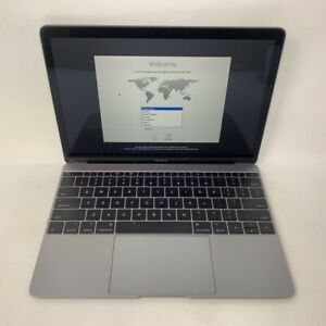 MacBook 12 Space Gray 2017 1.3 GHz Intel Core i5 8GB 512GB SSD - Good - READ