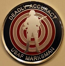 Marksman Small Arms Expert 43-50 USAF Air Force Challenge Coin