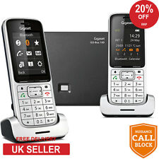 Siemens Gigaset SL450A GO Twin DECT Cordless Phone with Answering Machine - NEW