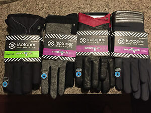 Isotoner SmartTouch Gloves Size XL:  Select Your Favorite!  Values to $60