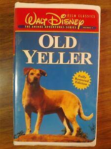 Old Yeller (VHS Movie, 1997)