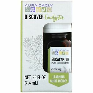 Discover Eucalyptus, Pure Essential Oil, .25 fl oz (7.4 ml)