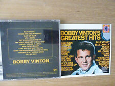 Bobby Vinton – Bobby Vinton's Greatest Hits , CD  #1