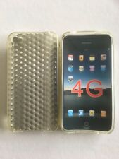coque iPhone 4 souple gris anti choc protection