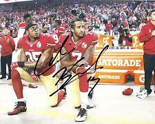 COLIN KAEPERNICK signed 8x10 Photo San Francisco 49ers Kneeling Protest REPRINT
