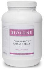 Biotone Dual Purpose Massage Cream Gallon 128 Ounce - DPC1G