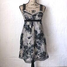 Ann Taylor Loft Womens Size 4P Gothic Floral Dress Cotton