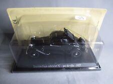 TA329 ATLAS SAGA DES TRACTIONS CITROEN 7C FAUX CABRIOLET GAZ DE VILLE 1937 1/43