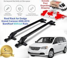 HIG Car Roof Rack Side Rails Luggage Bars Mount For Dodge Journey 2008-2016 09