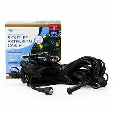 AQUASCAPE #84023 25' EXTENSION CABLE with 5 Outlets spaced at 5' intervals