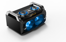 IBIZA SPLBOX120 SOUND BOX SYSTEM Partystation Bluetooth USB SD LED Fernbedienung