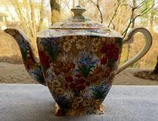 Royal Winton Marguerite Floral Chintz Large Square Teapot