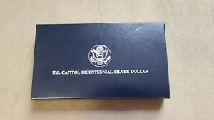 1994 US Capitol Bicentennial Silver Dollar Proof w/ display box & CoA