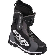 FXR Tactic BOA Focus Winter Snowmobile Boots - Black/Charcoal - 15500.100XX