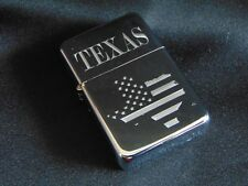 Texas Engraved Lighter with Gift Box - FREE ENGRAVING