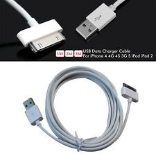 USB Date Charger Cable 30 Pin USB Charging cables For iPhone 4 4G 4S 3G/  1M
