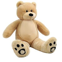 WOWMAX® 3 Foot Teddy Bear Giant Soft Stuffed Animal Plush Toy Hug Doll Brown