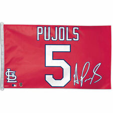 Pujols Player Jersey Flag and Banner