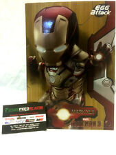BEAST KINGDOM ACTION FIGURE IRON MAN EGG ATTACK MARK 42 ALTEZZA 18CM