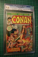 CONAN THE BARBARIAN #29 CGC GRADED AT 9.6 ONLY 3 GRADED HIGHER 1973 WHITE PAGES