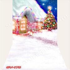 Christmas10'x20'Computer/Digital Vinyl Scenic Photo Backdrop Background SV175B88