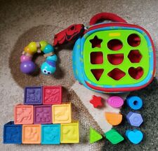 Bunch of Toys Boikido Caterpillar/Learning Cubes w/Animals & Numbers/Sorter Bin