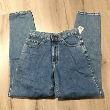 "Lee High Waist Denim Jeans Tapered Leg 28"" x 31"" Junior 9 Nos"