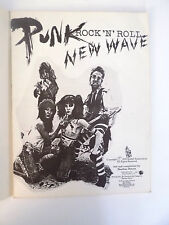 SPARTITO PUNK ROCK'N'ROLL NEW WAVE ALMO PUBLICATIONS 1978- E1