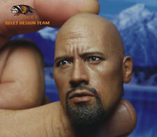 BELET BT013 Detective the Rock Headplay Dwayne Johnson Head Scuplt 1/6 Scale